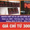 dong ho nha xuong 100x100 - Đồng hồ nhà xưởng giá rẻ