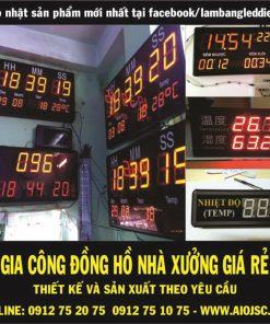 gia cong dong ho led 247x296 - Đồng hồ led điện tử