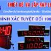 lam led dien tu gia re 100x100 - Bảng hiển thị tỉ giá ngoại tệ