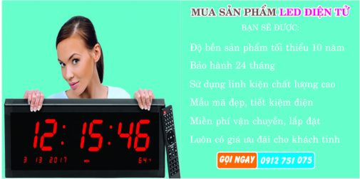 thiet bi led dien tu 505x252 - Đồng hồ led điện tử dùng trong nhà xưởng
