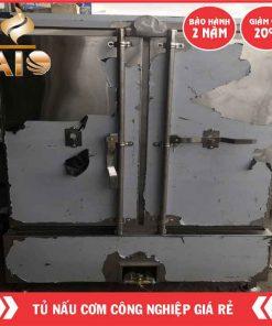 tu com tiet kiem gaz 247x296 - Tủ nấu cơm công nghiệp dùng điện và gaz 24 khay