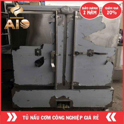 tu com tiet kiem gaz 510x509 - Tủ nấu cơm công nghiệp dùng điện và gaz 24 khay