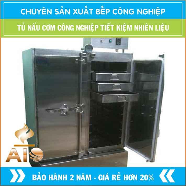 tu nau com aiojsc.com  - Tủ nấu cơm công nghiệp điện 12 khay