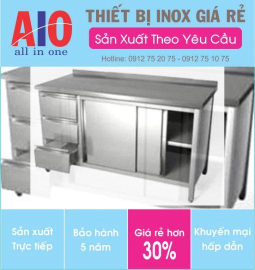 16 quay bar inox 510x540 - Tủ đựng thiết bị inox