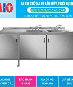 24 tu inox bon rua doi 3canh 247x296 - Chậu rữa inox cho nhà hàng