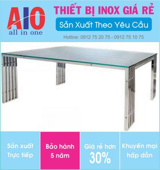 25 ban inox phong khach 510x542 - Bàn inox phòng khách
