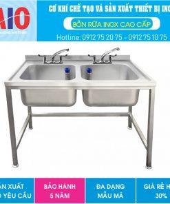 56 bon rua inox doi aiojsc.com  247x296 - Chậu rữa inox 2 bồn