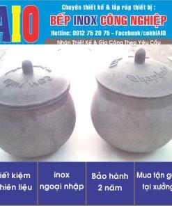 chen nieu hop kim nhom 247x296 - Chén cơm niêu inox hợp kim nhôm