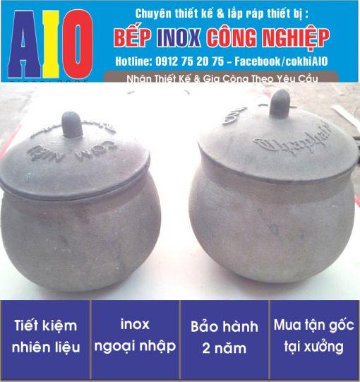 chen nieu hop kim nhom 510x541 - Chén cơm niêu inox hợp kim nhôm