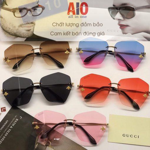 chuyen ban si mat kinh gucci 510x509 - Mắt kính thời trang cao cấp nữ Gucci 0310