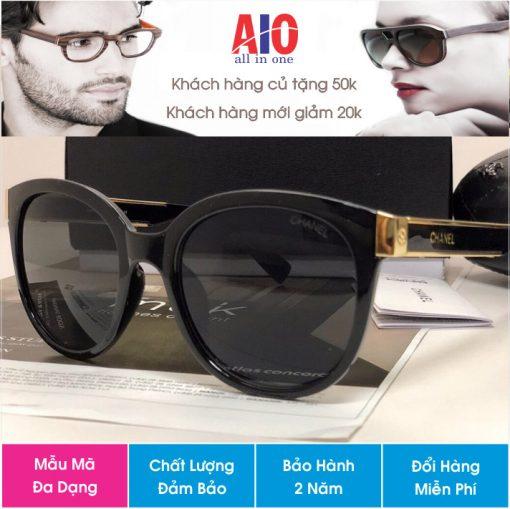 mắt kính channel hàng chinh hãng e 510x509 - Mắt kính thời trang cao cấp nữ Channel 6684