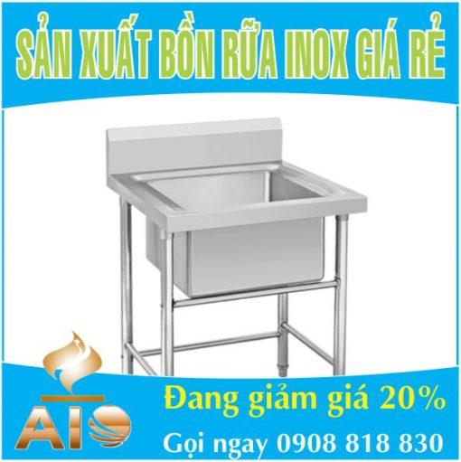san xuat chau rua inox gia re 510x511 - Chậu rửa inox công nghiệp giá rẻ