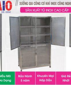 tu dung thiet bi inox 247x296 - Tủ đựng chén bát inox cao cấp