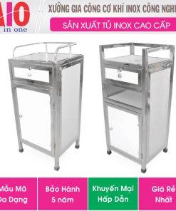 tu inox c 247x296 - Tủ giường bệnh inox