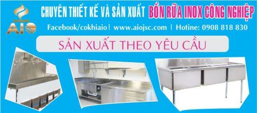 xuong lam bon rua inox cong nghiep 505x222 - Chậu rửa inox công nghiệp giá rẻ