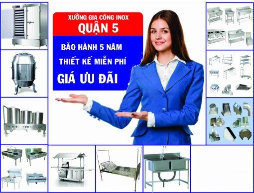 chuyen thiet bi nha hang 510x388 - Xưởng gia công inox quận 5