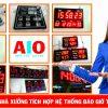 thiet ke dong ho led dien tu 100x100 - Lắp ráp và thiết kế đồng hồ led giá rẻ