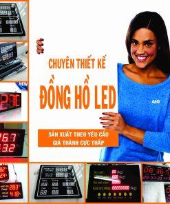xuong lam dong ho led 247x296 - Lắp ráp và thiết kế đồng hồ led giá rẻ