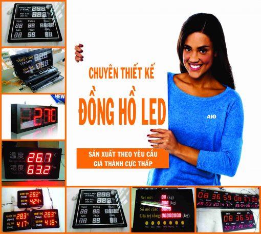 xuong lam dong ho led 510x456 - Lắp ráp và thiết kế đồng hồ led giá rẻ