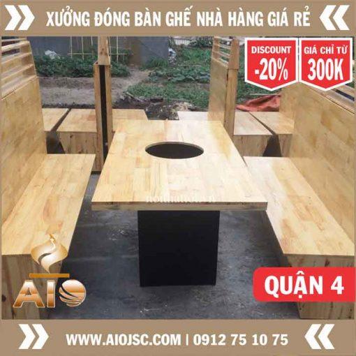 ban ghe nha hang nuong khong khoi quan 4 510x510 - Bếp Nướng Không Khói Nhật Bản