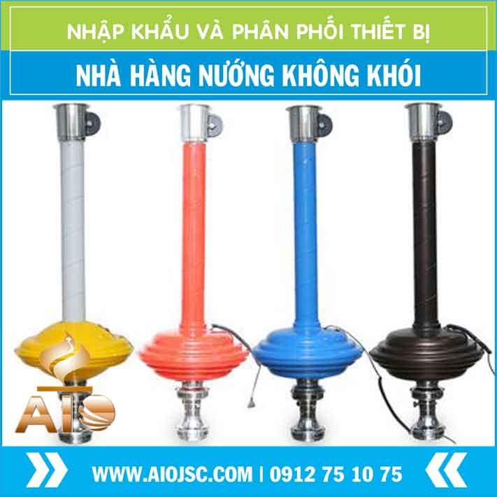 ban ong hut khoi gia re - Bếp nướng không khói hút dương