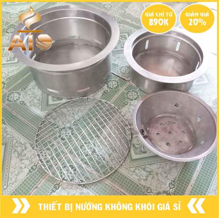 bep nuong am ban inox 304 - Bếp nướng âm bàn dùng trong nhà hàng nướng không khói