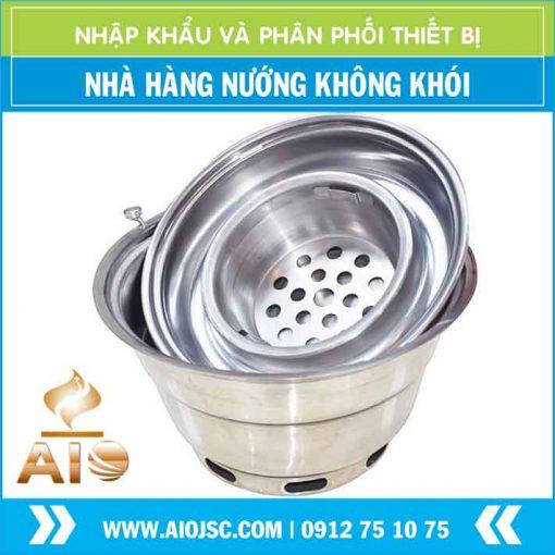 bep nuong am ban inox 510x510 - Bếp nướng không khói hút dương