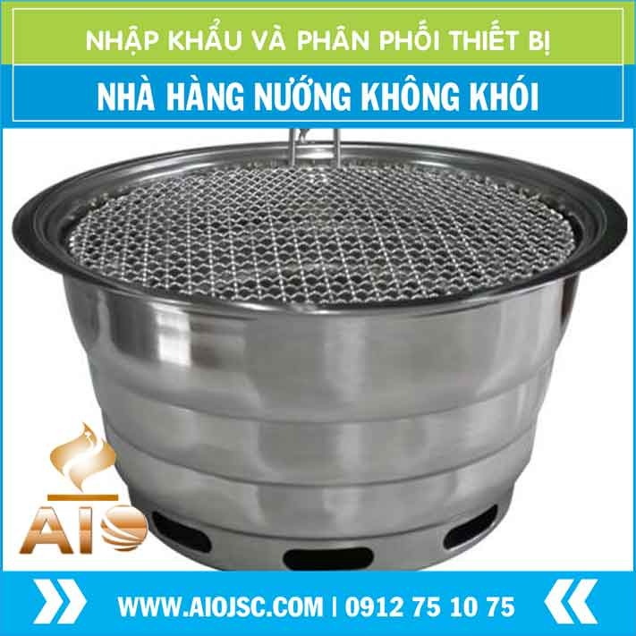 lo nuong khong khoi - Lò nướng không khói hàn quốc