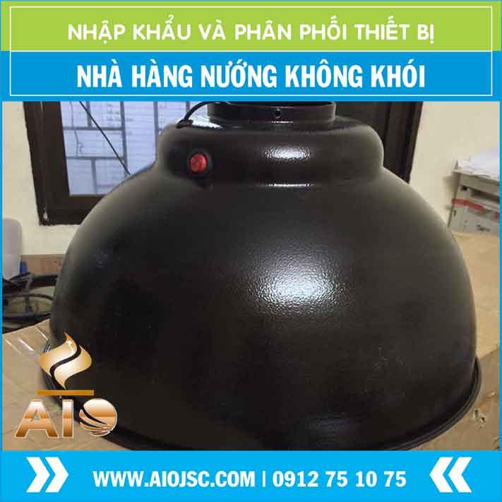 mang chup den nuong khong khoi tai ban - Bếp nướng không khói hút dương