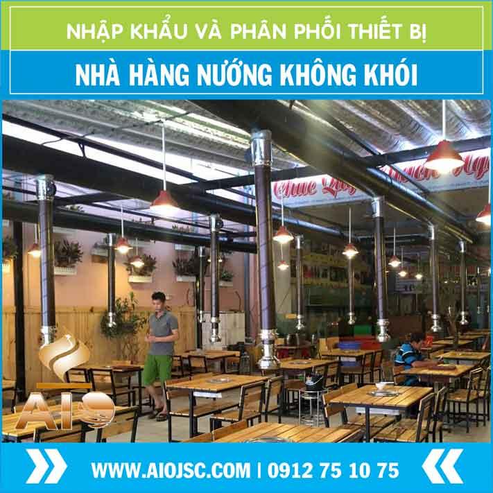 nha hang nuong khong khoi han quoc - Bếp Nướng Không Khói Nhật Bản