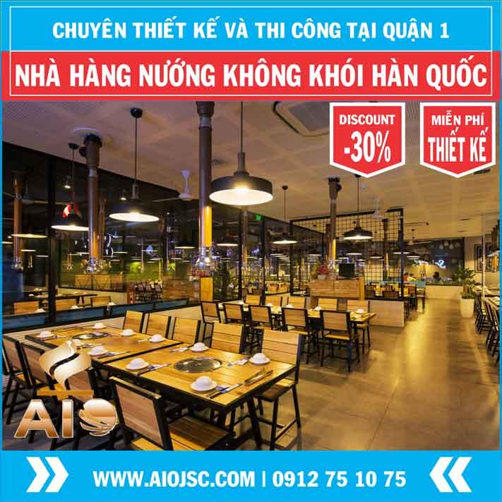 nuong khong khoi han quoc quan 1 aiojsc.com  - Chuyên lắp đặt nhà hàng nướng không khói tại quận 1