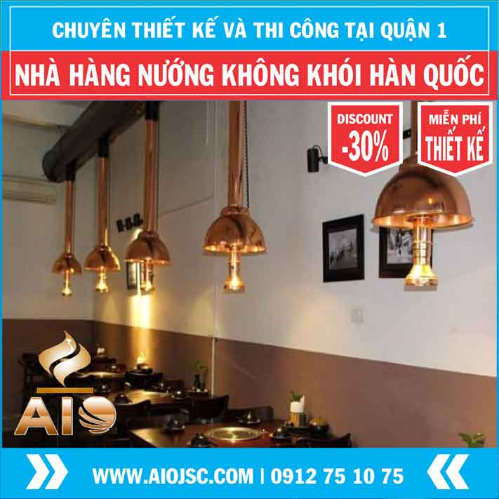thi cong nha hang nuong khong khoi han quoc quan 1 aiojsc.com  - Thiết kế nhà hàng nướng không khói giá rẻ tại quận 1