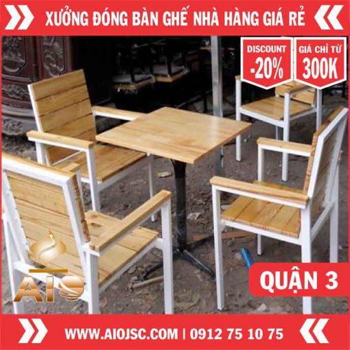 xuong moc dong ban ghe quan 3 510x510 - Thiết kế nhà hàng nướng không khói giá rẻ nhất tại quận 3