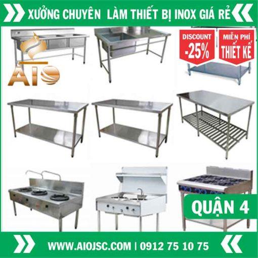 xuong san xuat thiet bi inox quan 4 510x510 - Bán thiết bị nhà hàng nướng không khói giá sỉ tại quận 4