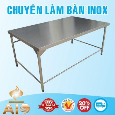 ban inox nha hang 400x400 - Bàn chế biến thực phẩm inox