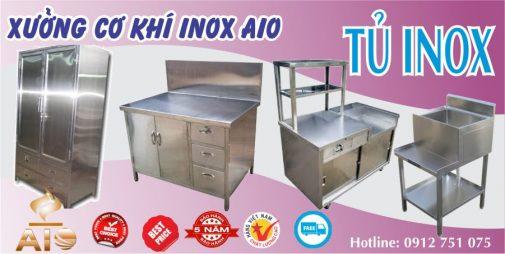 ban tu inox 505x254 - Chuyên làm tủ inox