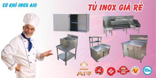 ban tu inox gia re 510x255 - Xưởng làm tủ inox