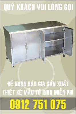 ban tu inox gia re nhat 266x400 - Tủ inox nhà bếp