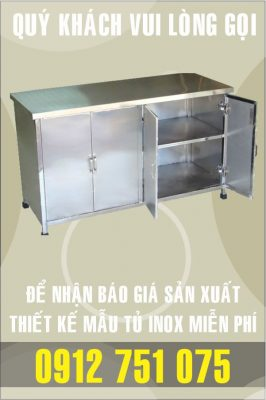 ban tu inox gia re nhat 266x400 - Tủ bar inox