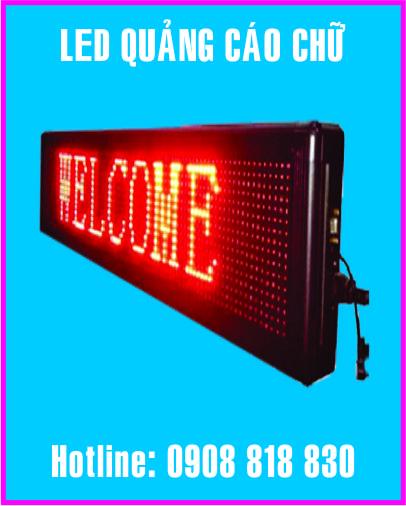 bang chay chu bang led - Làm led điện tử giá rẻ