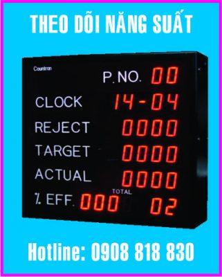 bang theo doi nang suat led dien tu 321x400 - Làm bảng led điện tử giá rẻ