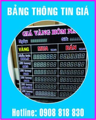 bang thong tin gia led dien tu 321x400 - Bảng theo dõi ngoại tệ dùng trong ngân hàng