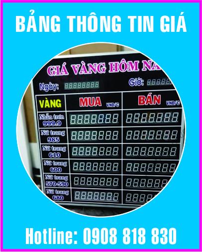 bang thong tin gia led dien tu - Làm led điện tử giá rẻ