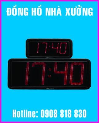 dong ho nha xuong led dien tu 321x400 - Bảng theo dõi ngoại tệ dùng trong ngân hàng