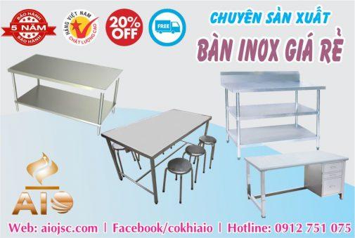 gia cong ban inox cong nghiep 505x339 - Bàn inox dùng trong nhà xưởng