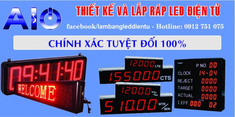 lam led dien tu gia re 800x400 - Đồng hồ nhà xưởng giá rẻ