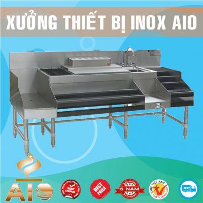 lam quay bar inox gia re 400x400 - Tủ inox nhà bếp