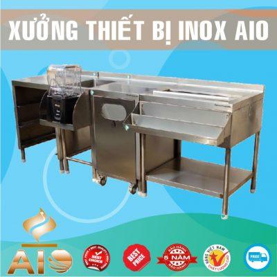 quay bar inox gia re 400x400 - Tủ giường bệnh inox