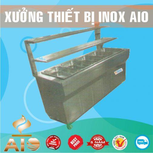 tu ban hang inox 505x505 - Tủ bán cháo dinh dưỡng inox