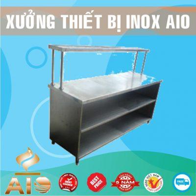 tu ban hang thuc pham inox 400x400 - Tủ bar inox